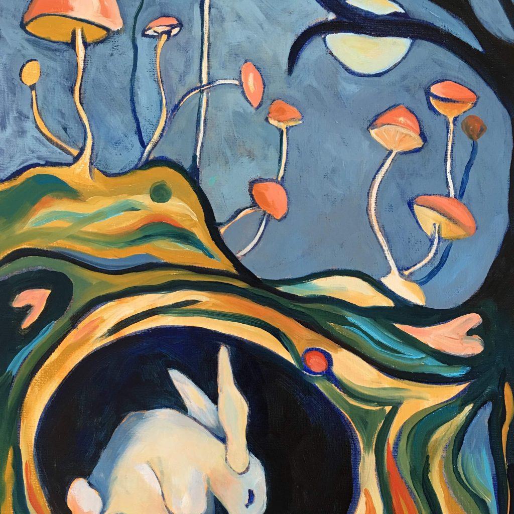 Fungi Artwork by Clare Wassermann